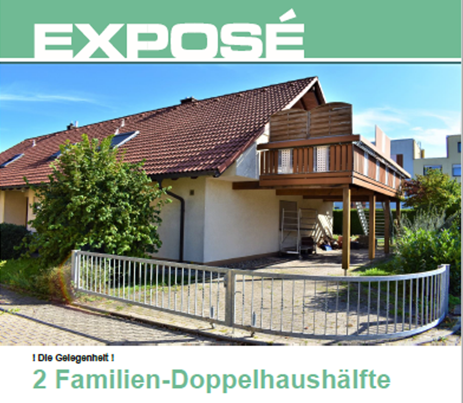 Speck Immobilien Expose